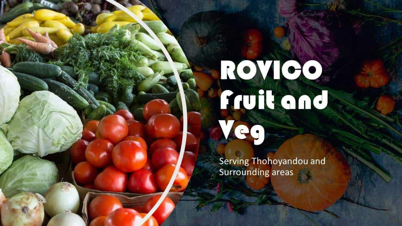 ROVICO Fruit and Veg